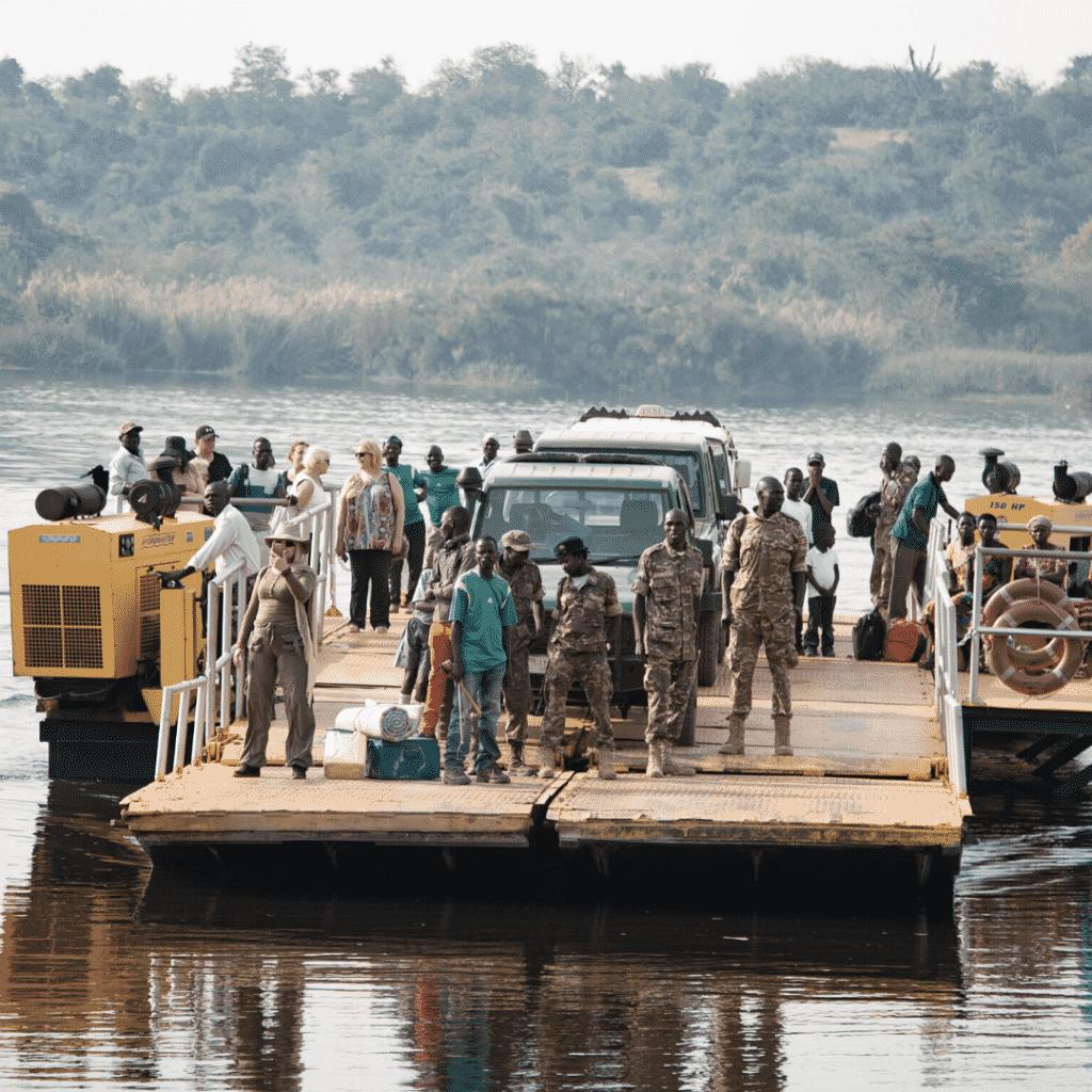 Nile River in Uganda